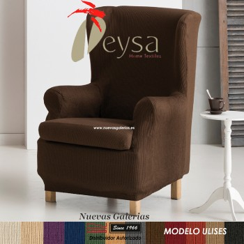 Eysa Elastic Wing Chair Sofa Cover | Ulises