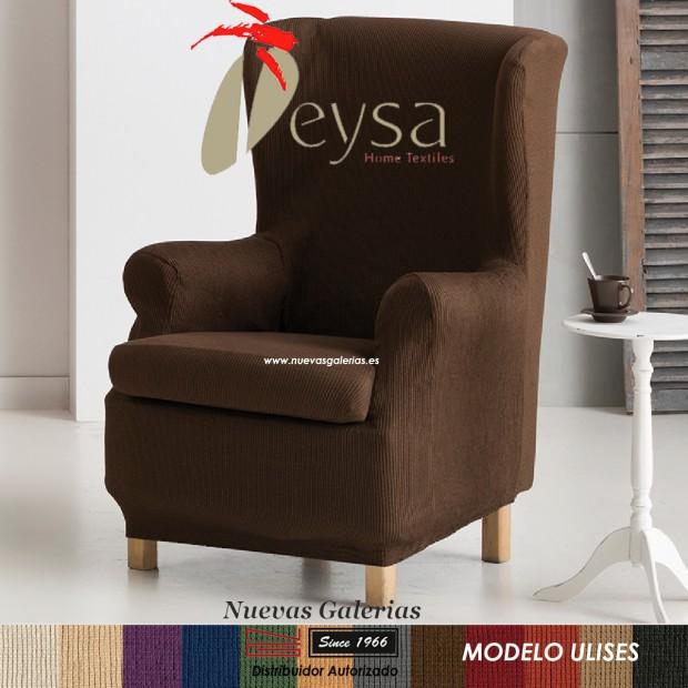 Eysa Elastic Wing Chair Sofa Cover | Ulises