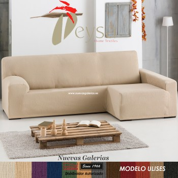 Eysa Bielastic sofa cover Chaise Longue| Ulises