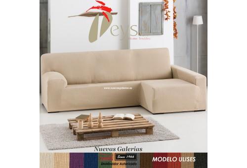 Eysa Bielastische Schoner für Sofa mit Ottomane | Ulises