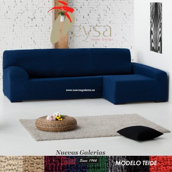 Eysa Bielastic sofa cover Chaise Longue| Teide
