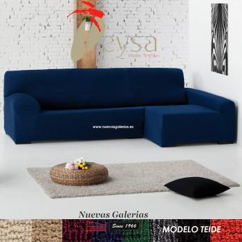 Eysa Bielastische Schoner für Sofa mit Ottomane | Teide