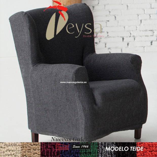 Eysa Elastic Wing Chair Sofa Cover   Teide