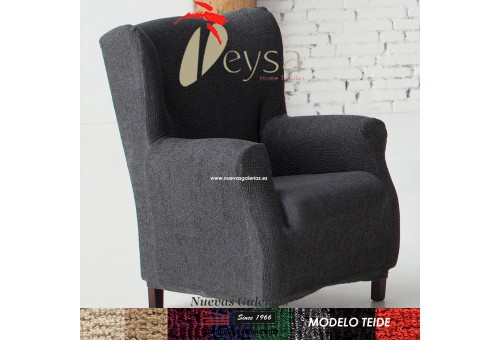 Eysa Elastic Wing Chair Sofa Cover | Teide