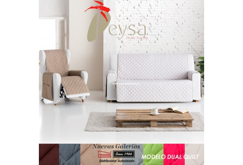 Eysa Practica sofa cover | Dual Quilt