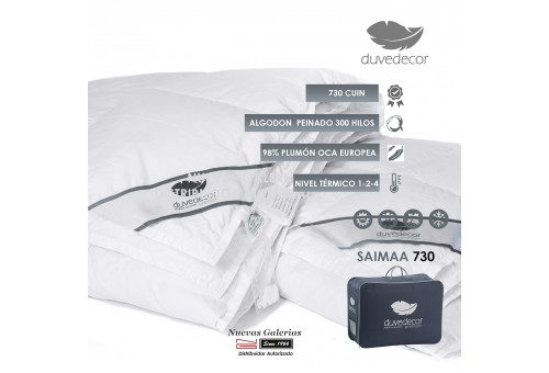 Relleno Nordico Duvedecor Premium - Saimaa 730 | 4 Estaciones