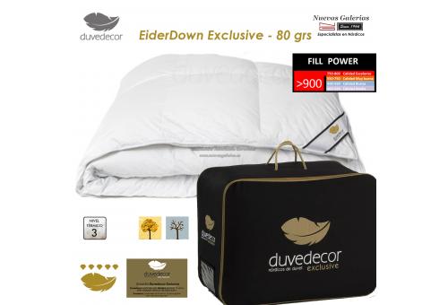 Duvedecor Eider Down Duvet 900 CUIN 80 grs| Duvedecor - 1 Eiderdown Down conforter comforter, EXCLUSIVE duvedecor range, ideal f
