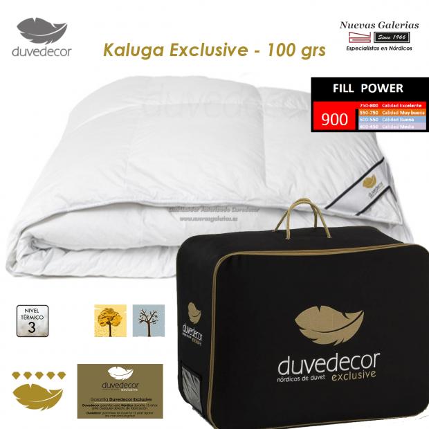 Duvedecor Duvedecor Goose Down Duvet 900 CUIN 100 grs | Kaluga - 1 Kaluga Down conforter duvet, EXCLUSIVE duvedecor range, ideal