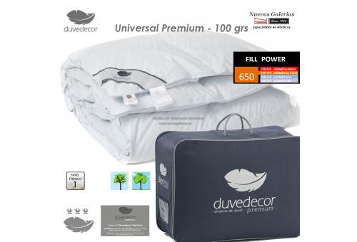 Duvedecor Duvedecor Piumino d´Oca 650 CUIN 100 grs | Universal - 1 Piumone trapuntato universale Premium 100, serie PREvede duve