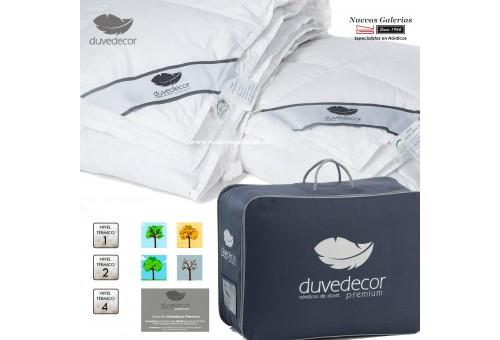Duvedecor Daunendecke 650 CUIN 4-Jahreszeiten |Universal