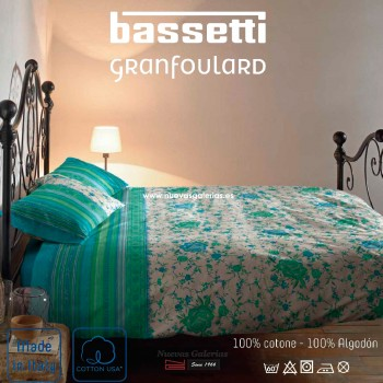 Funda Nordica Bassetti | Porticciolo Verde Granfoulard