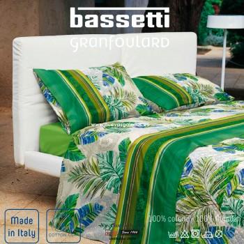 Juego de Sabanas Bassetti | Levante Verde Granfoulard
