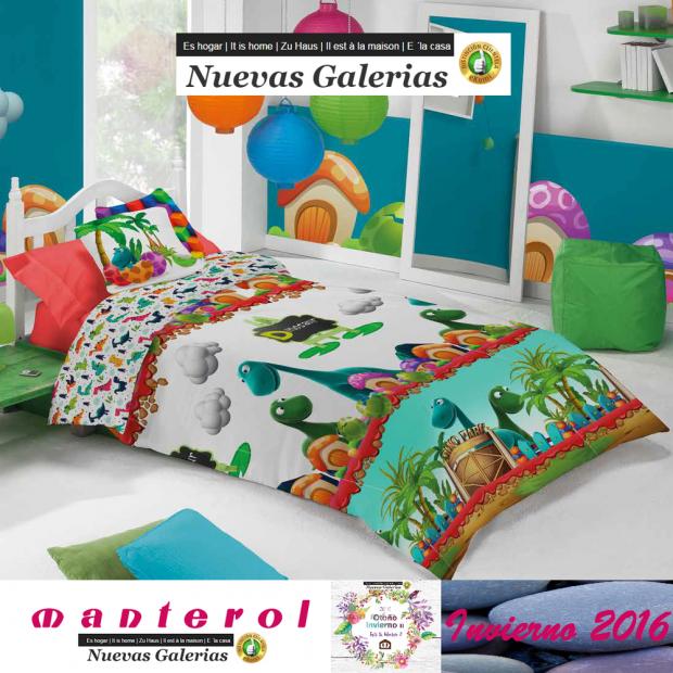 Kinder Bettwäsche Manterol Junior 587 Nuevas Galerias