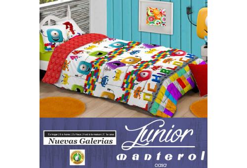 Manterol Edredon Duvet Infantil Manterol | 584 - 1 Edredon Duvet Infantil Manterol | 584Edredon con motivos infantiles ideales