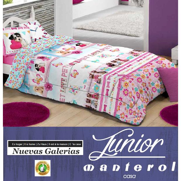 Manterol Kinder-Steppdecken Manterol | 583 - 1 Kinderbettdecke Manterol | 583 Quilt mit Kindermotiven, ideal für die Kleinen im