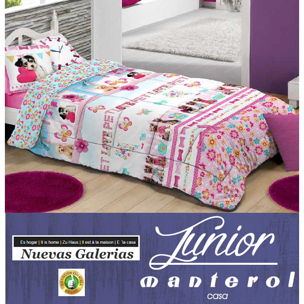 Manterol Manterol Kids Quilt | 583 - 1 Duvet Children's Duvet Manterol | 583 Quilt with children's motives ideal for the little