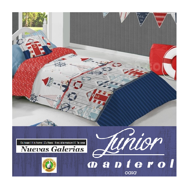 Manterol Manterol Kids Duvet Cover | Junior 579 - 1 Duvet cover Manterol | Junior 579 - zipper Cover Game with children's motive