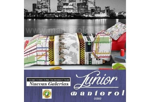 Manterol Kinder-Bettwäsche Manterol | Junior 581 - 1 Bettwäsche Manterol | Junior 581 - Reißverschluss-Cover-Spiel mit Kindermot