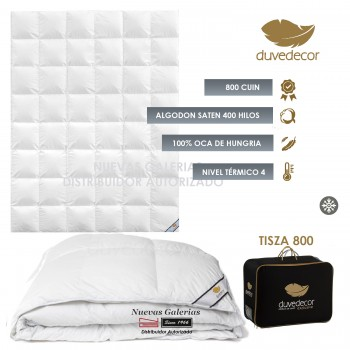 Duvedecor Tisza 800 Fill Power Winter Down Comforter