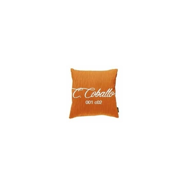 Manterol Cushion Cobalto 001-02 Manterol - 1 Cobalt cushion | Manterol - Cushion of uniform color and with reliefs in various si