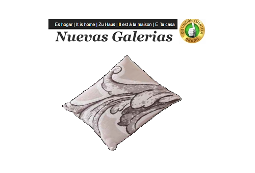 Manterol Cushion Manterol | karin 755-06 - 1 Manterol cushion cover | karin 755-06? - Cushion of uniform color and with reliefs