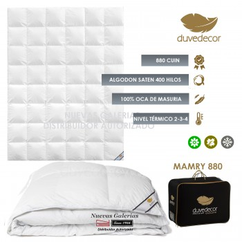 Duvedecor Mamry 880 Fill Power 4 Seasons Down Comforter