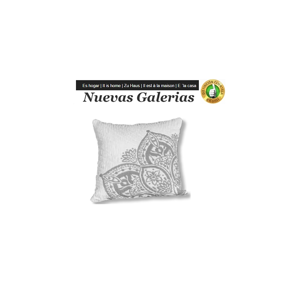 Manterol Cuscini Manterol | Atica 728-01 - 1 Copri cuscino Manterol | Atica 728-01 - Cuscino di colore uniforme e con rilievi di