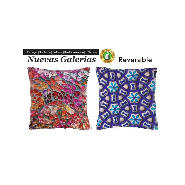 Manterol Cushion Manterol Reversible | Fatum 617 - 1 Manterol Reversible Cushion | Fatum 617 - Cushion of uniform color with rev