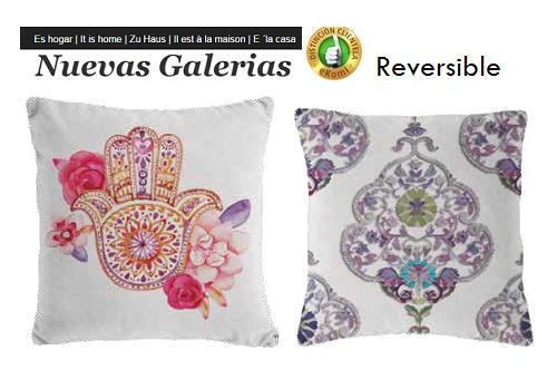 Manterol Cushion Manterol Reversible | Fatum 618 - 1 Manterol Reversible Cushion | Fatum 618 - Cushion of uniform color with rev