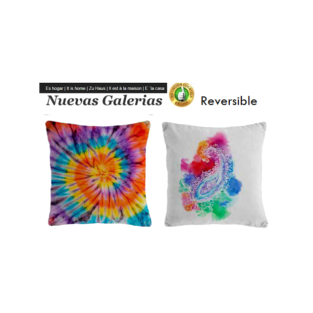 Manterol Cushion Manterol Reversible | Fatum 622 - 1 Manterol Reversible Cushion | Fatum 622 - Cushion of uniform color with rev