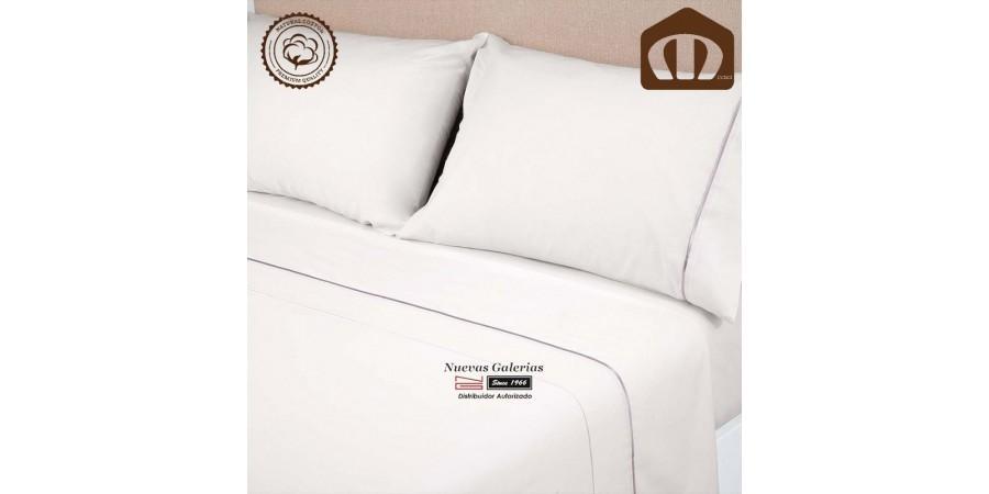Sommerbettwäsche Manterol | Exclusive Weiß - 400 Fäden