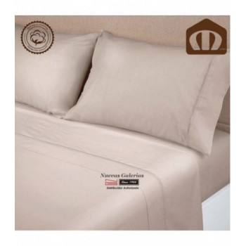 Ensemble de draps Manterol | Exclusive Beig 400 fils