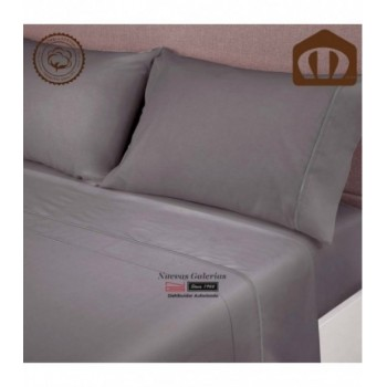 Ensemble de draps Manterol | Exclusive Antracite 400 fils