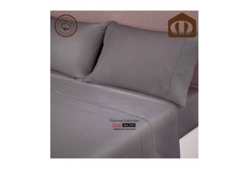 Manterol Manterol Sheet Set - Exclusive Anthracite 400 threads - 1 Manterol Sheet Set - Exclusive Anthracite. 100% combed cotton