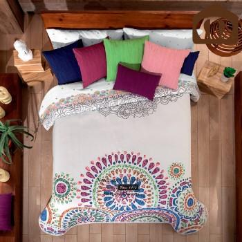 Manterol Bedcover 634 09 | Lakme Violet