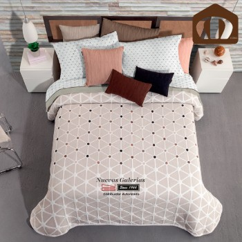 Manterol Bedcover 635 07 | Nabucco Beig