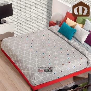 Manterol Bedcover 635 12 | Nabucco Gray