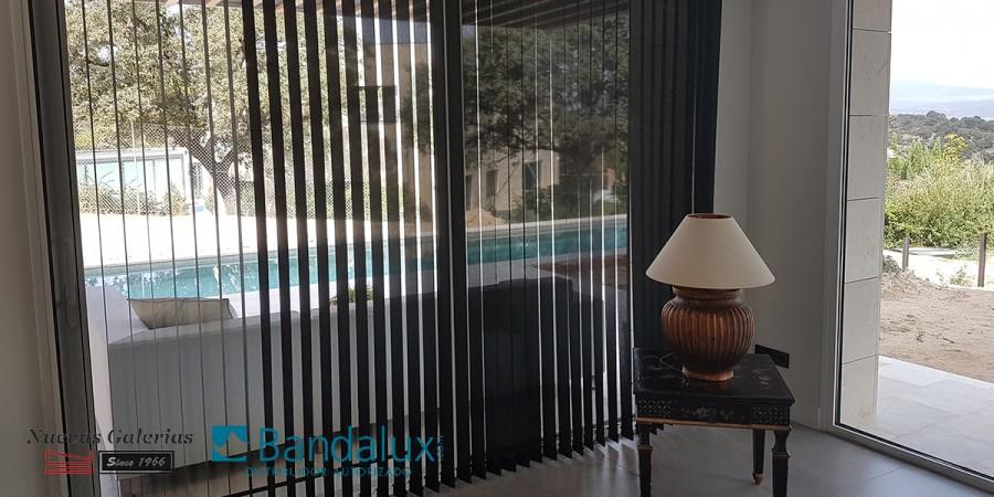 Store à bandes verticales Lame 89mm | Bandalux