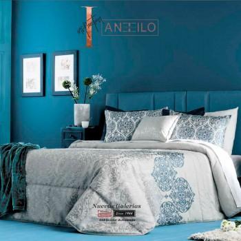 Colcha Bouti Jacquard Antilo | Amara Azul