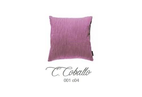 Manterol Cuscini Cobalto 001-04 Manterol - 1 Cuscino di cobalto | Manterol - Cuscino di colore uniforme e con rilievi di varie d