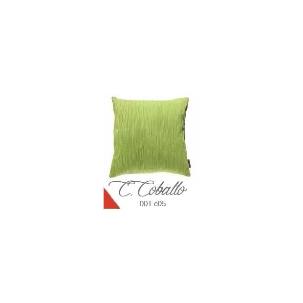 Manterol Cuscini Cobalto 001-05 Manterol - 1 Cuscino di cobalto | Manterol - Cuscino di colore uniforme e con rilievi di varie d