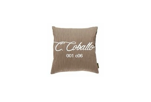 Manterol Cushion Cobalto 001-06 Manterol - 1 Cobalt cushion | Manterol - Cushion of uniform color and with reliefs in various si