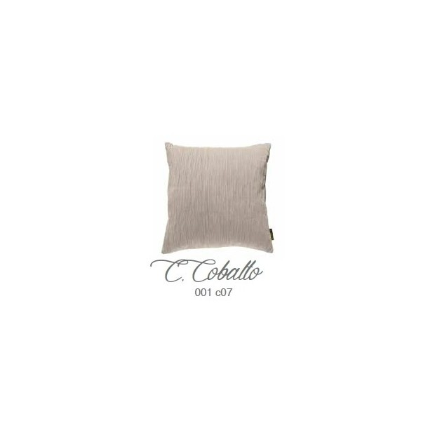 Manterol Cuscini Cobalto 001-07 Manterol - 1 Cuscino di cobalto | Manterol - Cuscino di colore uniforme e con rilievi di varie d