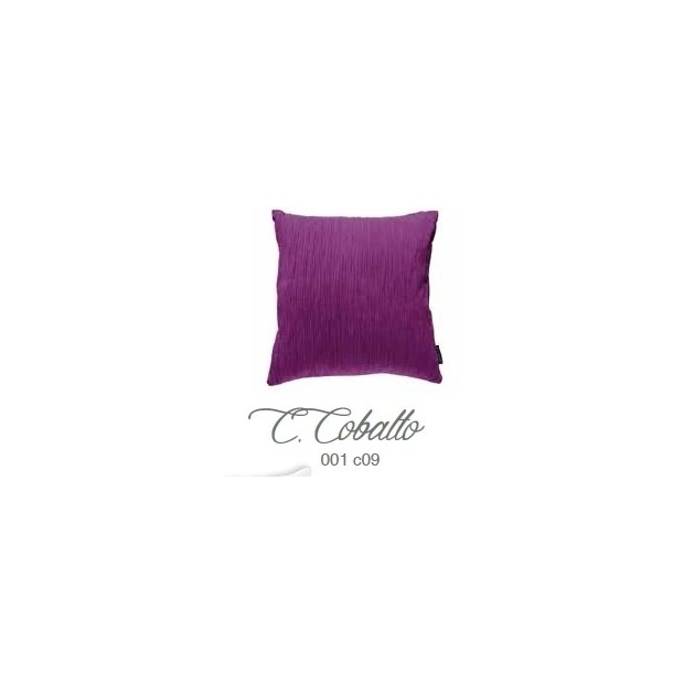 Manterol Cushion Cobalto 001-09 Manterol - 1 Cobalt cushion | Manterol - Cushion of uniform color and with reliefs in various si