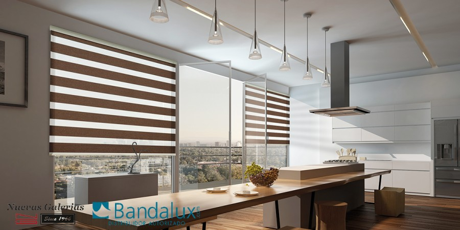 Q-Cassette Neolux® night & day roller shades | Bandalux