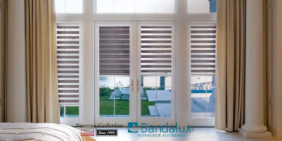 Nacht- und Tagesrollos Fit Neolux® Klebstoff | Bandalux