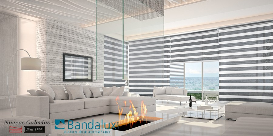Q-Style Neolux® Nacht- und Tagesrollos | Bandalux