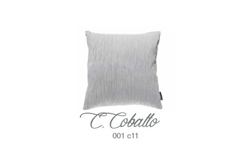 Manterol Cushion Cobalto 001-11 Manterol - 1 Cobalt cushion | Manterol - Cushion of uniform color and with reliefs in various si