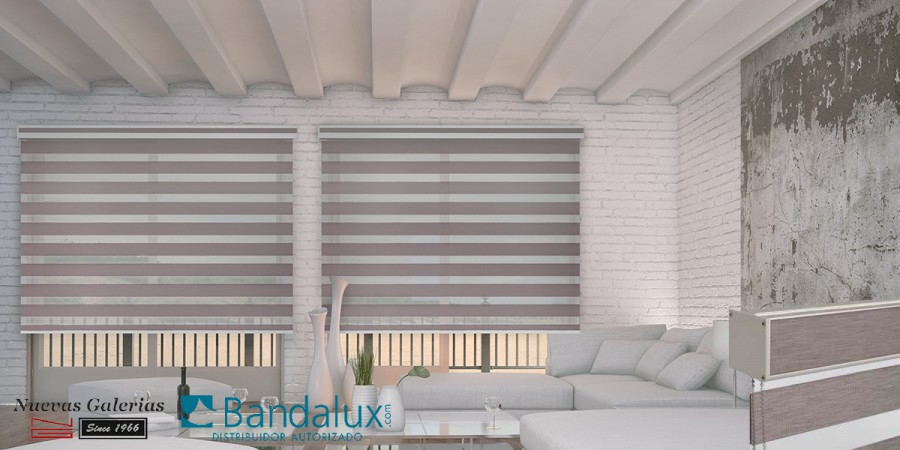 Q-Style Neolux® night & day roller shades | Bandalux
