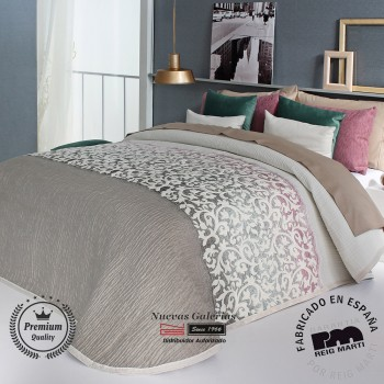 Jacquard bedspread Reig Marti | Andrew 01 Beige